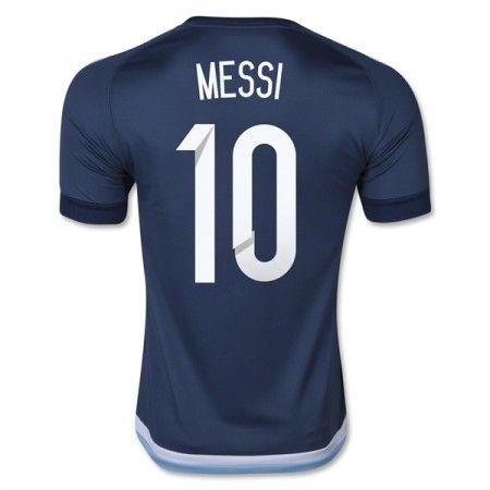 Argentina 2016 Lionel Messi 10 Borte Drakt Kortermet.  http://www.fotballteam.com/argentina-2016-lionel-messi-10-borte-drakt-kortermet.  #fotballdrakter