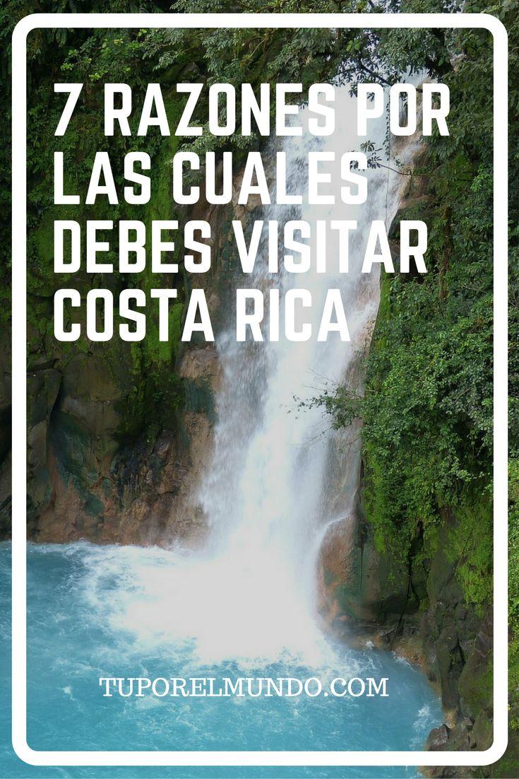 Sabías que Costa Rica es considerado uno de los países más felices del mundo y que  además es conocido como uno de los lugares más hermosos para visitar?