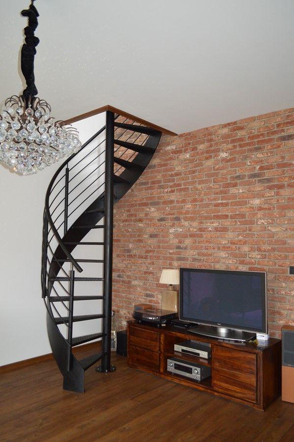 Krecone Schody W Stylu Industrialnym 1 Home Stairs Design Stairs Design House Stairs