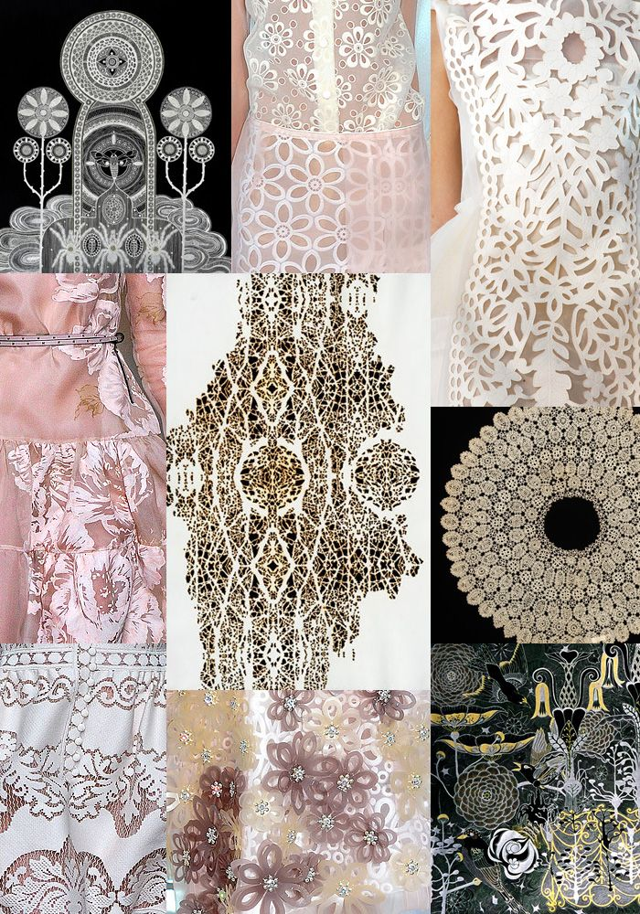 Inspiration Spring/Summer 2013   Laser Cut Lace Looks   inspiration