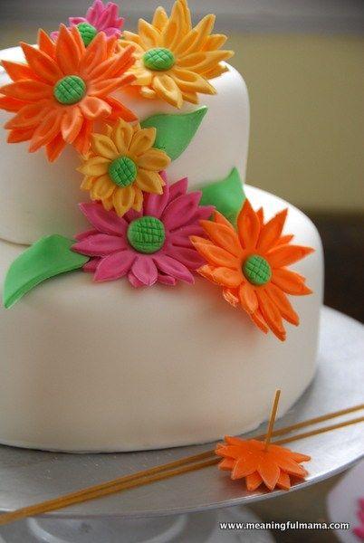 1-#spring #flower #birthday #cake-009