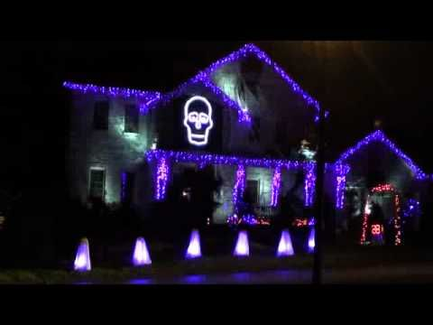 Browse|Movies |Upload  Halloween Light Show 2011 - Ghostbusters