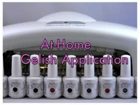 At Home Gelish Gel Tutorial This is the best way to learn, I love this product, It feels like real nails because they are!!