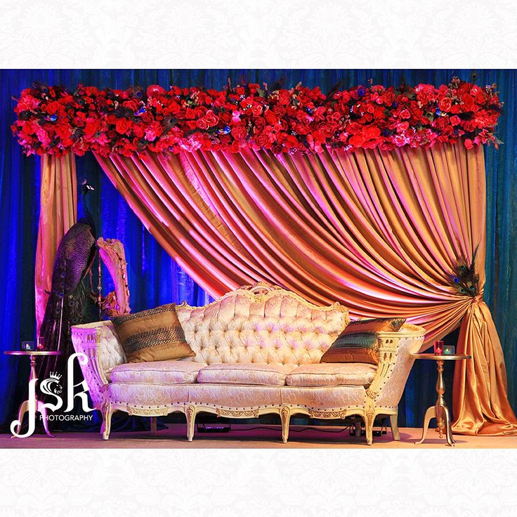 Indian wedding decor by Anais Events