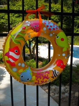 Pool Party Decorations Ideas cute and easy decoration for a beach party luau pool party or splish splash Find This Pin And More On Pool Party