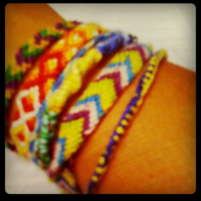 summer time fun - friendship bracelets