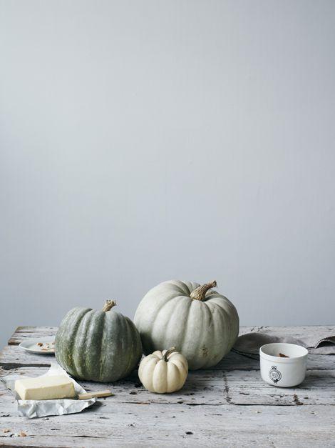 jarrahdale pumpkins...a favorite of mine to grow