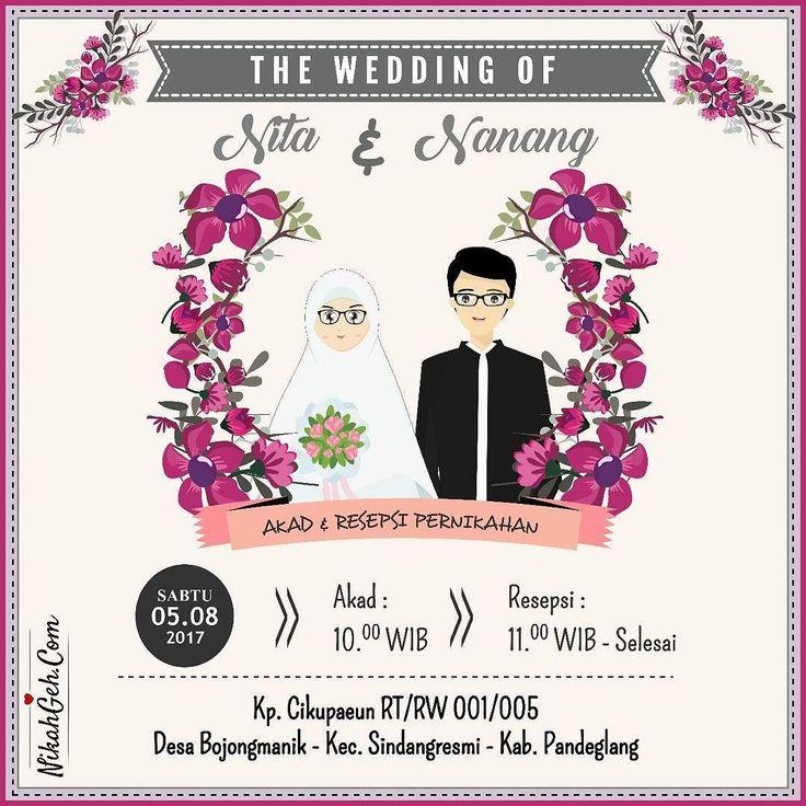 https://nikahgeh.com - E-Invitation .  Tanya-tanya atau info lebih lanjut hubungi :  WA : 08561410064 Line : nikahgeh Desain bisa cek di  http://nikahgeh.com  #weddingserang#undanganserang #infoserang #undanganminimalis #simpleinvitation #testinikahgeh #undanganpernikahanmurah #undangancantik #pesanundangan #invitationserang#kotaserang#undangancilegon #undanganpandeglang#undanganmurah #undanganpernikahan#undanganonline #undangankreatif#undanganunik#nikah…