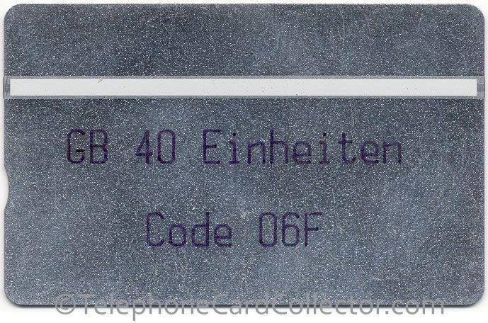 GB 40 Einheiten Code 06F - Control number: 111K06675