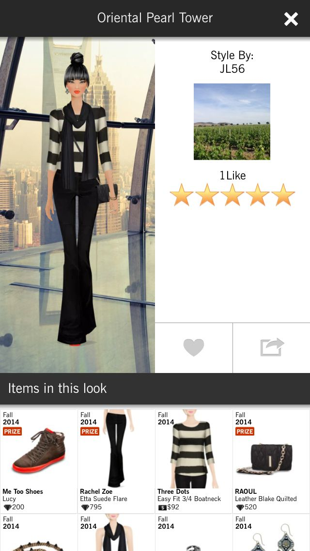 Oriental Pearl Tower Covet Fashion Jet Set Event 5 Star