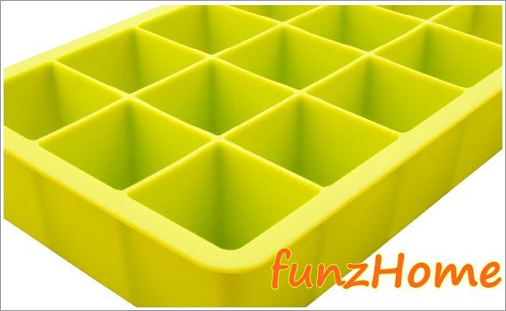 15 Square Cube Silicone cake mold, chocolate mold, ice mold, jelly mold, soap mold, candle mold on Etsy, $55.65 HKD