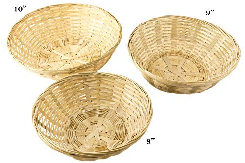 "Round Bamboo Bread Stackable Basket, Set of 3 - 10"", 9"", ... https://www.amazon.com/dp/B01C681PIO/ref=cm_sw_r_pi_dp_x_EO5Qyb90J9R9Q"
