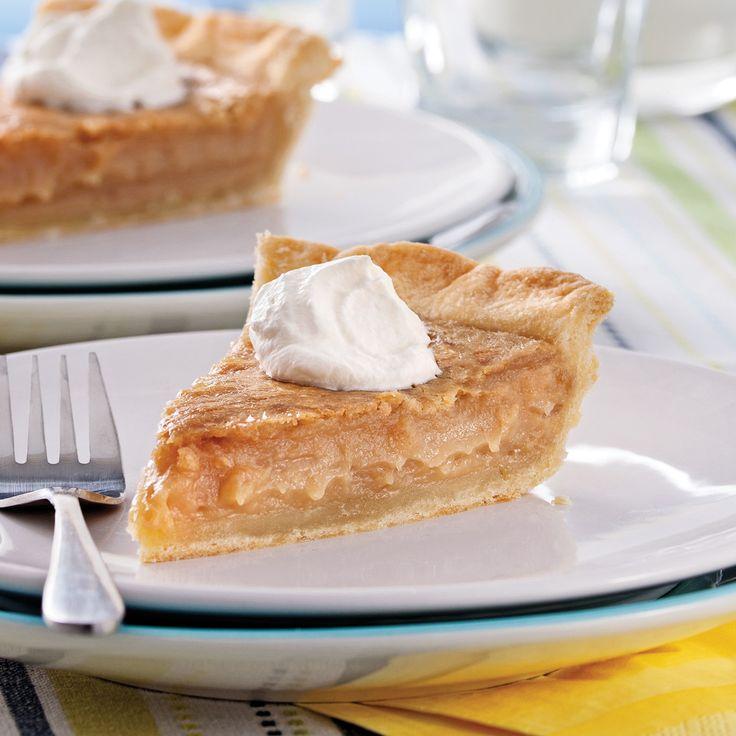 Une tarte au sucre parfaite… et même aussi bonne que celle de Grand-maman!