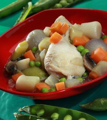 Κοτόπουλο στην κατσαρόλα με λαχανικά και τον ζωμό του | Γιάννης Λουκάκος