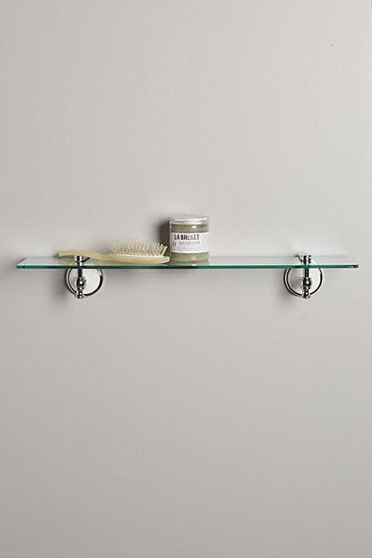 Lasson Glass Floating Shelf Shelves Glass Bathroom And Bath