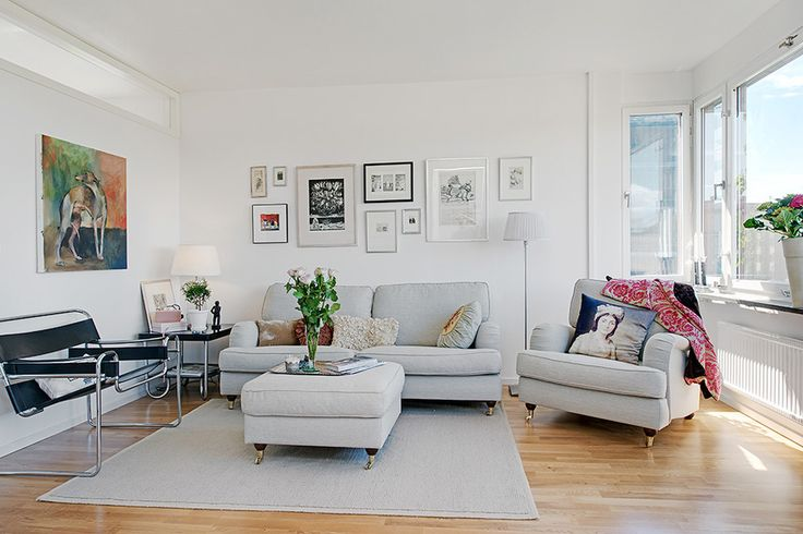 How to Design a Luxury Home With a Clean White Color for Cozy Living Room