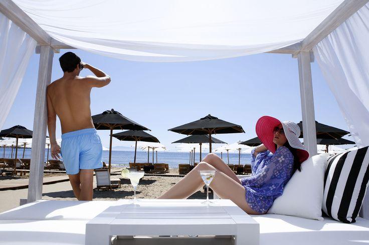 Elegant beach experience near by Athens