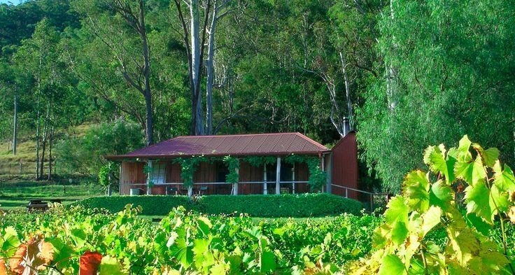 Cedar Creek Cottages at Stonehurst Vineyard - Hunter Valley - New South Wales http://www.beautifulaccommodation.com/properties/cedar-creek-cottages-at-stonehurst-vineyard