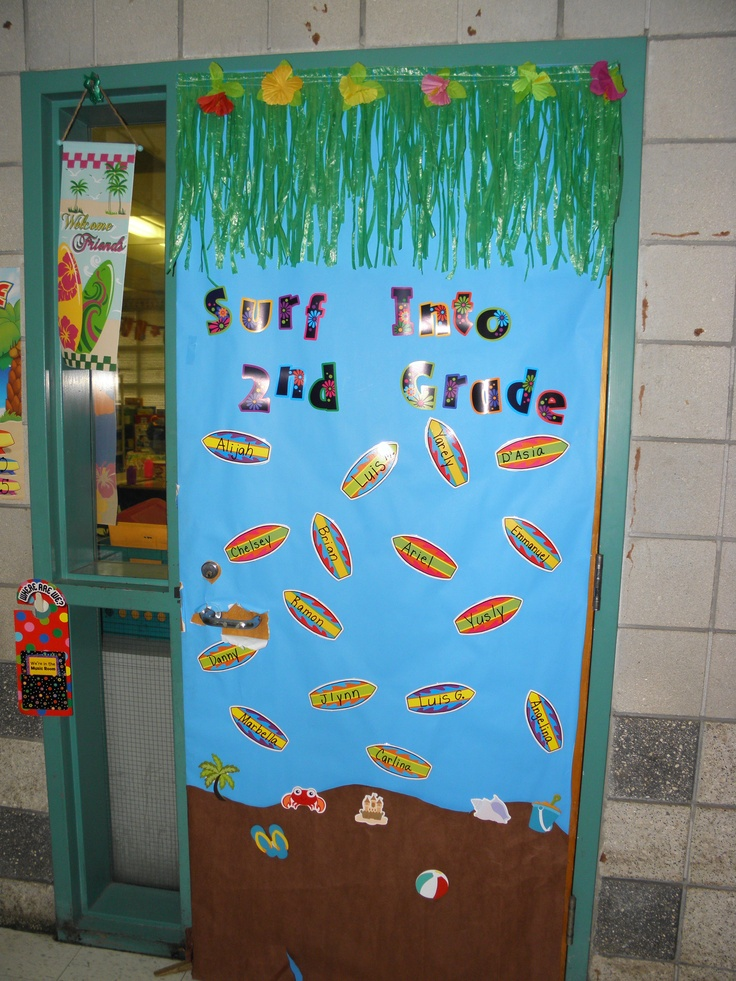 Beach Door Deco & 90 best +Keeta classroom - beach theme images on Pinterest | Ocean ... pezcame.com