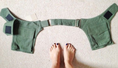 WAIST BAG HIP UTILITY tool POCKET BELT POUCH... could use as a base pattern