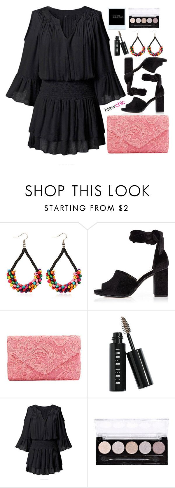 """""""Newchic 2/10 - Easy Dress"""" by alaria ❤ liked on Polyvore featuring River Island, Bobbi Brown Cosmetics, dress and easypeasy"""