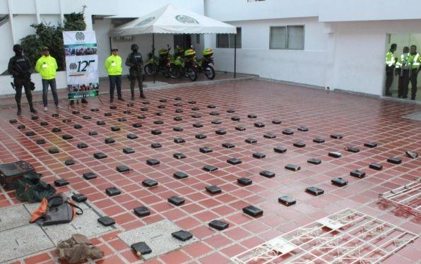 En Soledad Atlantico hallan 72 kilos de marihuana en allanamientos