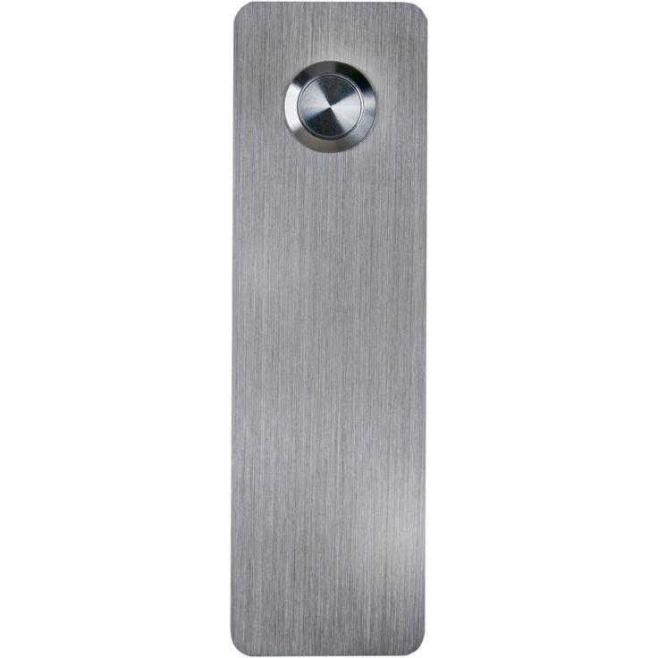 Stainless Steel Ultra Modern Rectangle Doorbell by Waterwood Hardware - $79.99