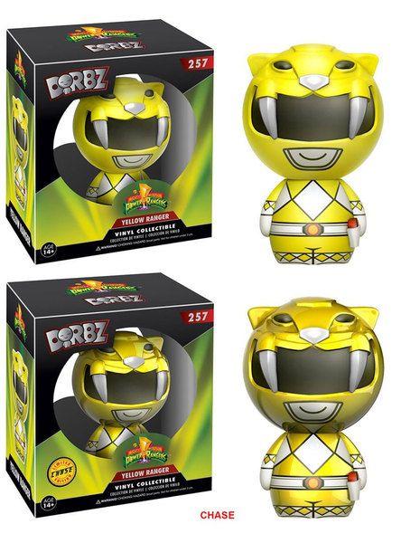 Figuras de vinilo, tamaño aprox. 8 cm.Los tenemos surtidos:- 5x Figuras Yellow Ranger Classic- 1x Figura Yellow Ranger VariantFabricante: FUNKO