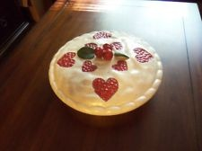 Ceramic Cherry Pie Covered Decorative Plate & 435 best Pie Carriers \u0026 Keepers \u0026 Pans \u0026 Plates images on ...