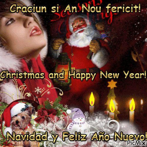 Craciun si An Nou fericit!4
