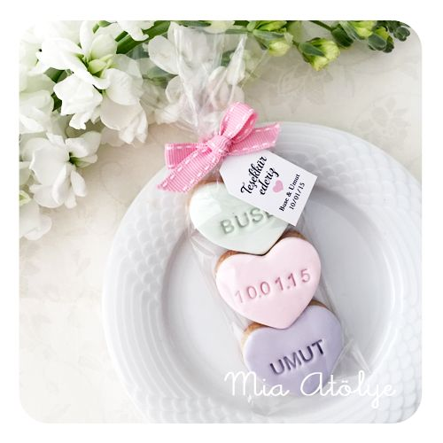 Engagement & Wedding favors - Cookies