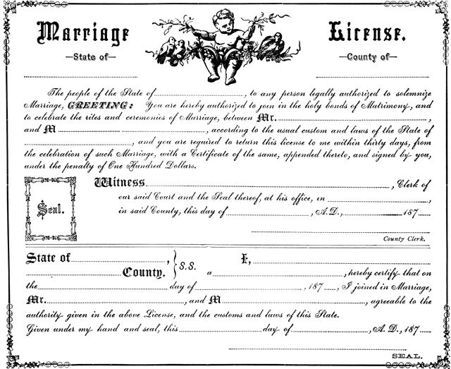 Free Printable Marriage Certificate Online. marriage ...