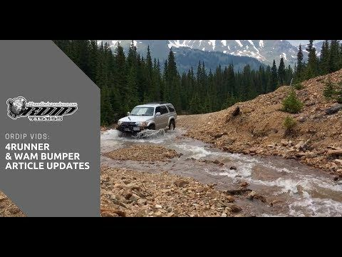 ORDIP Vids: 4Runner, videos, and Wambumpers com articles update - YouTube