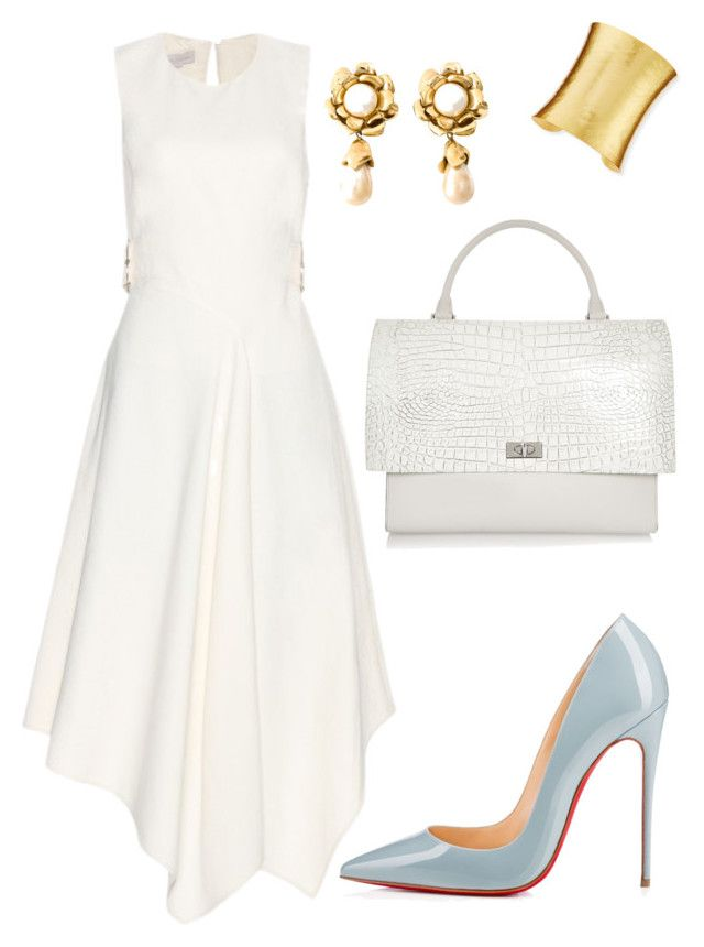 Helia's style theory by heliaamado on Polyvore featuring STELLA McCARTNEY, Christian Louboutin, Givenchy, Stephanie Kantis and Yves Saint Laurent