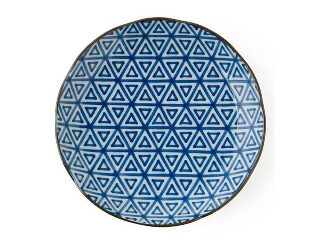 Item: MIY-J3821/4 Comes in 4 classic patterns. Size:10 Diameter x 1.5 in.H tabletop plate. Microwave/dishwasher safe. Made in Japan.