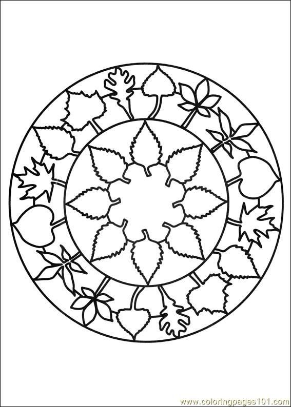 Free Printable Mandala Coloring Pages | free printable coloring page Mandalas 21 (Cartoons > Mandalas)