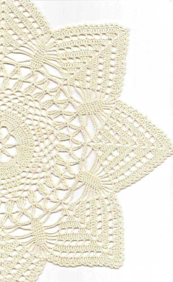 Crochet doilies lace doily table decoration by DoilyWorld on Etsy