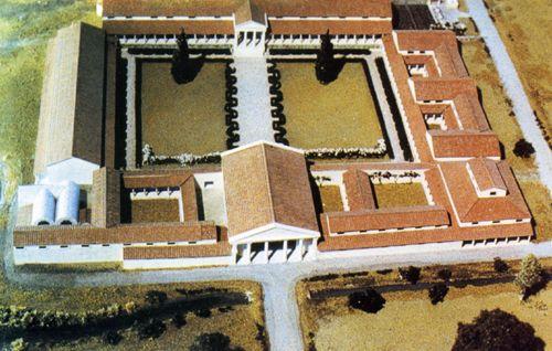 10 images about ancient roman houses on pinterest coins models and villas - Maison romaine antique ...