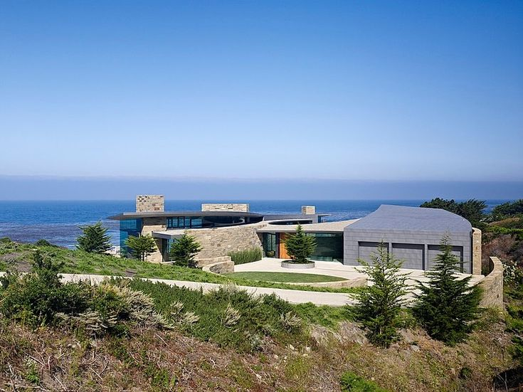 Otter Cove Residence, south of Carmel, CA by Fulcrum Structural Engineering