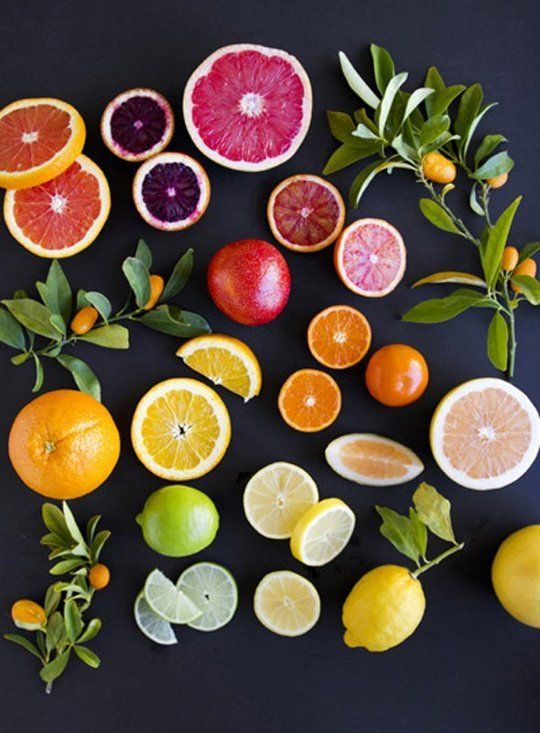 Citrus on Black by Angela Hardison — On The Wall