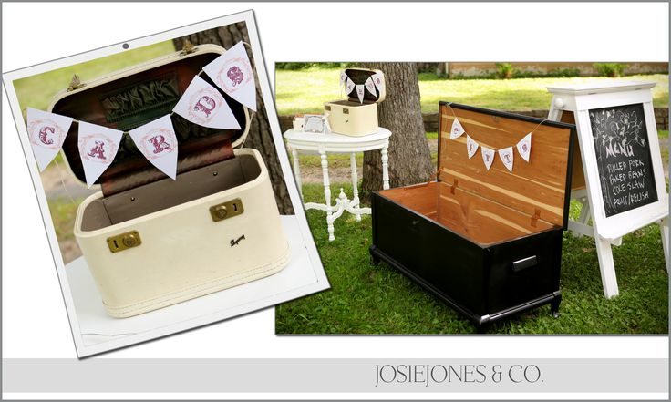 STORAGE FOR CARDS FROM AN OLD SUITCASE AND BOX Ideas for repurposing an antique dinner table - Google Search