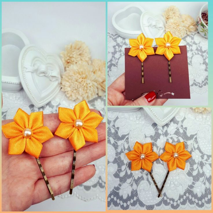 #bobbypins #hairclips #hairpins #hairjewelry #flowerpins #floraljewelry #hairslide by Rocreanique on Etsy