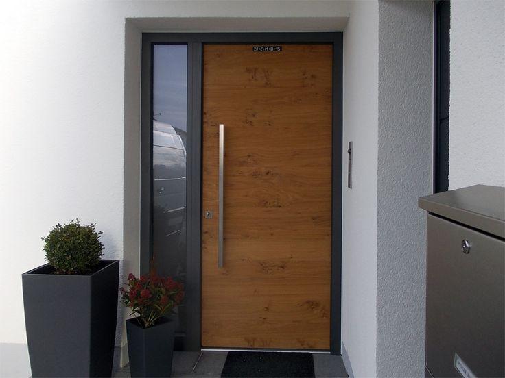 Haustüren modern anthrazit  Die besten 25+ Eingangstüren Ideen auf Pinterest ...