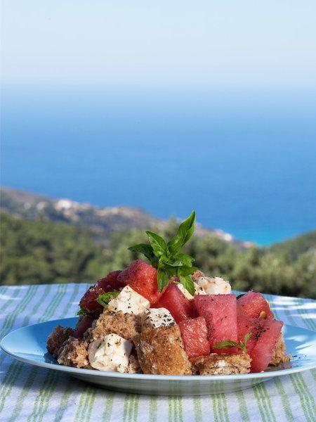 【ELLE a table】スイカとフェタチーズのサラダ レシピ エル・オンライン