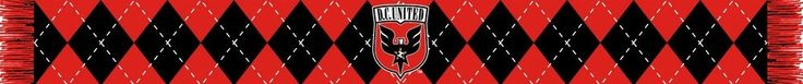 DC UNITED SCARF- Argyle