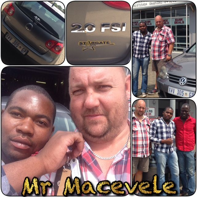 Another Happy Motorman Chappie! We at Motorman Are Proud To Have Done Business With You Mr Macevele... Lookout For Speed Traps lol. www.thempcargroup.co.za
