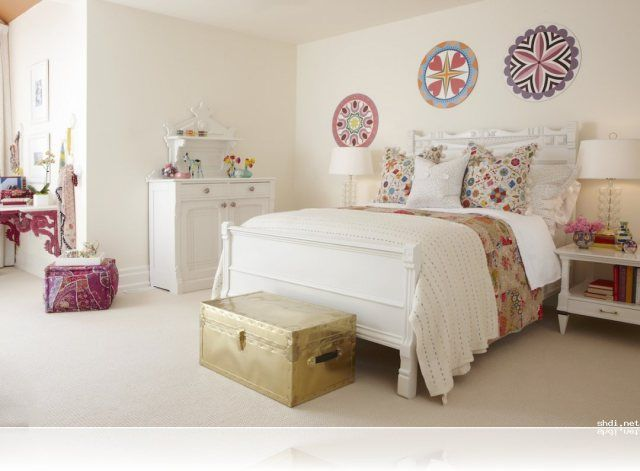 Dormitorio juvenil estilo vintage