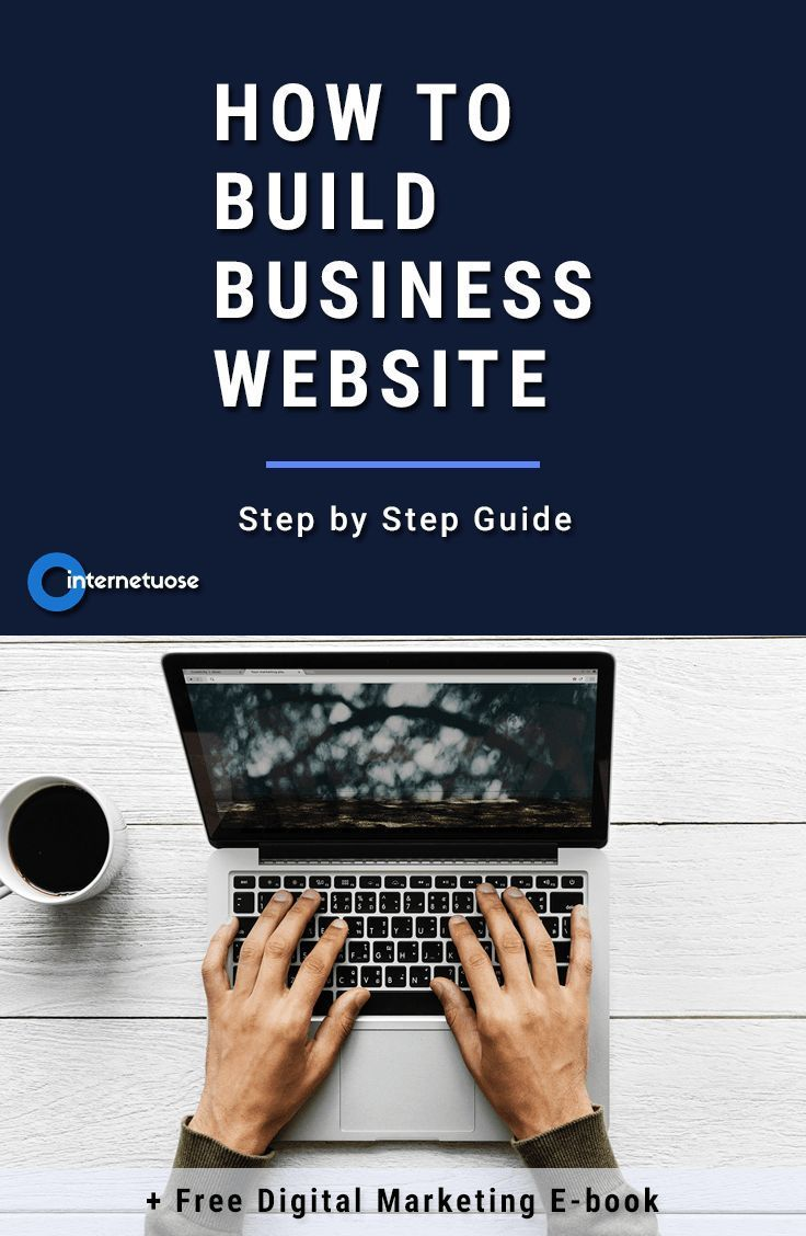 Learn How To Build Business Website Without Any Coding And Put Your Small Online Free Step By Guide Tutorial For Every Entrepreneur