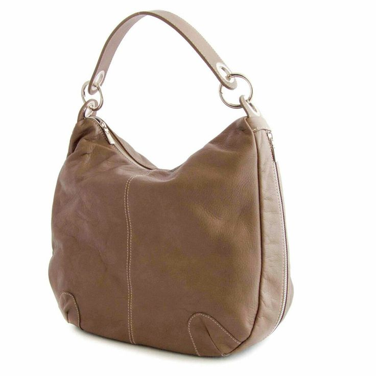 the perfect spring hobo buttery leather many pockets two different handles very versatile