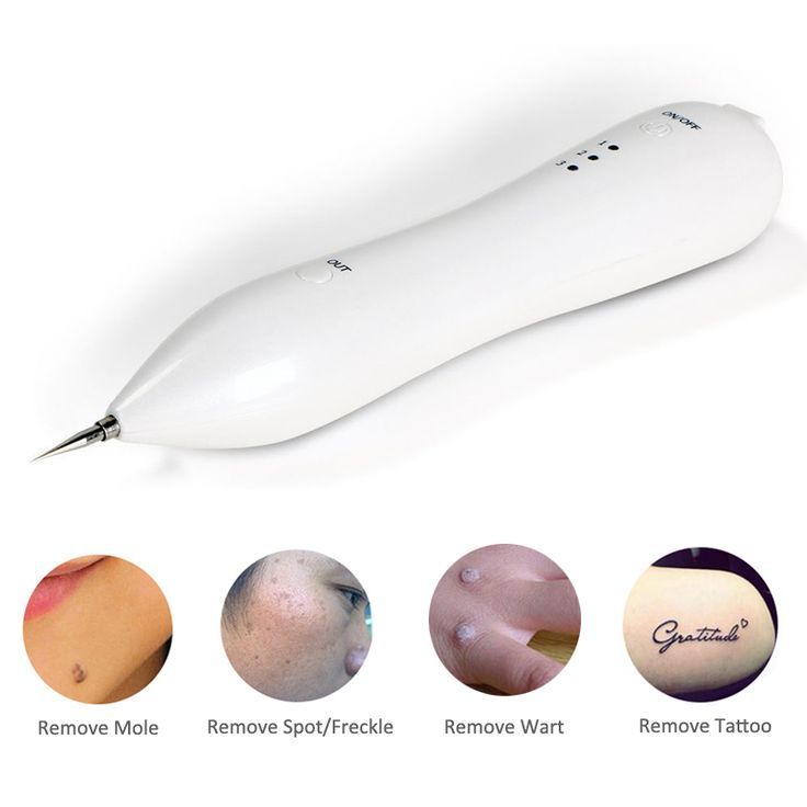 2017 Laser Mole Removal Tool Dark Spot Remover Freckle Tattoo Removal Wart Removal Machine Skin Care Salon Home Beauty Device